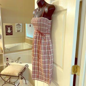 Women's Ann Taylor Loft Plaid Dress Size 6